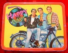 70s lunch box - happy days