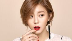 Uee models a new makeup brand for May Marie Claire and we think she looks gorgeous. Is it the haircut? Check it out! Source | Marie Claire