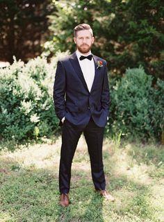 Groom's Attire: J.Crew - http://www.stylemepretty.com/portfolio/jcrew Photography: Michael And Carina Photography - michaelandcarina.com Read More on SMP: http://www.stylemepretty.com/2016/07/15/boho-style-winery-wedding/