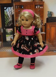 Sweetcakes vintage style dress for American von CupcakeCutiePie