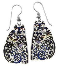 laurel burch jewelry | ... earrings blue silver by laurel burch previous in earrings next in