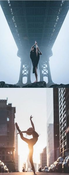 Beautiful Ballet Portrait Of Performers Claiming The Streets Of NYC  Ballet is an intimately physical art that has been merged with the beauty of music, photography and dance, captured by Puerto Rico born, NYC-based photographer Omar Robles' camera on the streets of New York city. #dancephotography,