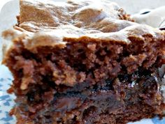 Unbelievably Rich And Gooey Caramel Cake...may be the best choc. cake you will ever make!