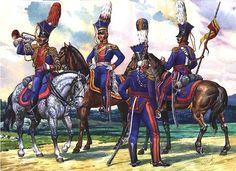 Уланский Цесаревича и Великого Князя Константина Павловича полк в 1803-1805 гг.