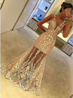 Prom Dress For Teens, Mermaid V-Neck Floor-Length Sleeveless Champagne Tulle Prom Dress with Appliques, cheap prom dresses, beautiful dresses for prom. Best prom gowns online to make you the spotlight for special occasions. Tulle Prom Dress, Mermaid Prom Dresses, Party Dress, Dress Up, Prom Party, Party Gowns, Dress Shoes, Shoes Heels, Elegant Dresses