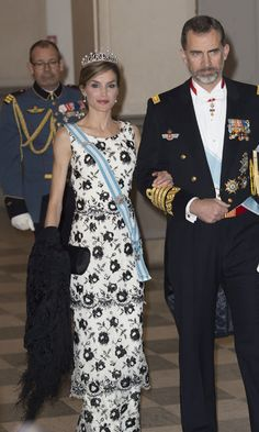Queen Letizia and King Felipe  Photo: Getty Images