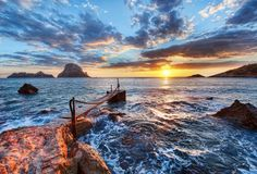 Marvelous Nature: Sunset at Ocean