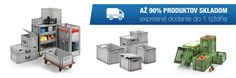 Priestorovo úsporné kontajnery v ponuke od Plastic Packaging Plastic Packaging