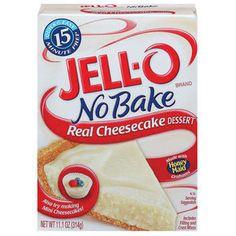 Jell-O Cheesecake No Bake Dessert Mix, 11.1 oz