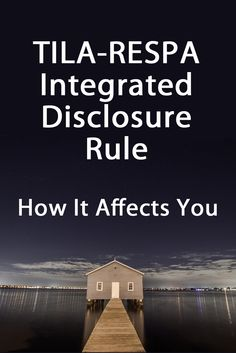 The mortgage industry is experiencing massive changes. The TILA-RESPA Integrated Disclosure Rule will go into effect Oct 1. As a signing agent, you should be prepared.