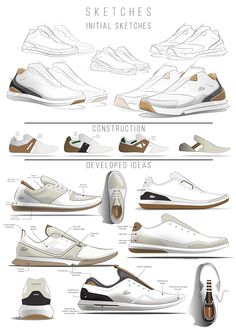 Some people are downright obsessed with sneakers. Whether you are that way or not, you still need to own sneakers. So, you should know that the sneakers th Futuristic Shoes, Sneakers Sketch, Lacoste Sneakers, Shoe Sketches, Industrial Design Sketch, Shoe Art, Buy Shoes, Golf Shoes, Women's Shoes