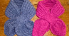 A practical scarf for little ones Knitting Videos, Knitting For Kids, Lana, Crochet Projects, Knitting Patterns, Knit Crochet, Pinterest Blog, Handmade, Pull Poncho