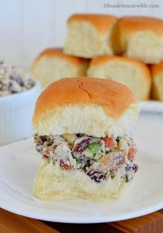 This turkey salad is the perfect way to use up that leftover turkey dinner.