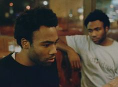 The two faces of Childish Gambino.