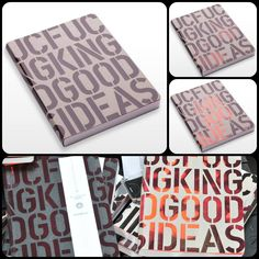 F***cking Good Ideas - Journal with thermo cover