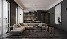 dark and sophisticated interior ideas