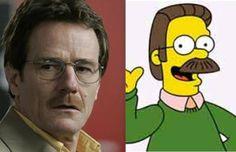 Los famosos y su sospechoso parecido con algunos de los dibujos animados más icónicos