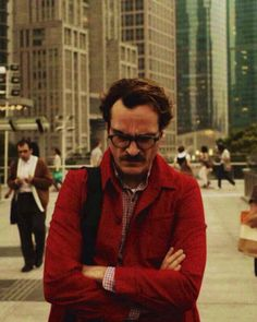 "Her - Spike Jonze / ""Falling in love is a crazy thing to do. It's like a socially acceptable form of insanity."""