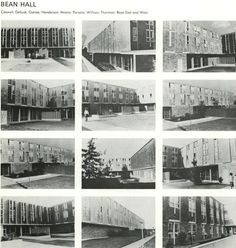Bean Hall 1966. From the 1966 Oregana (University of Oregon yearbook). www.CampusAttic.com