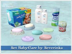 Baby Care Set by Severinka