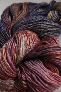 Malabrigo Silky Merino Knitting Yarn in Queqay