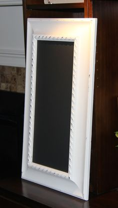 long narrow magnetic white chalkboard 15 12 x 26 by poshpilferetsy