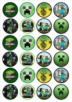 Minecraft Edible Cake Toppers Uk