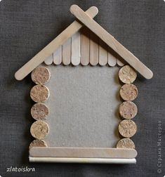 Popsicle Stick Art, Popsicle Stick Crafts, Craft Stick Crafts, Diy Crafts To Sell, Handmade Crafts, Paper Crafts, Kids Crafts, Christmas Deco, Christmas Projects