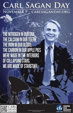 November 9, 2012: It's Carl Sagan Day! <3