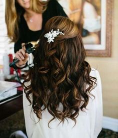 Long Wedding Hairstyles Ideas
