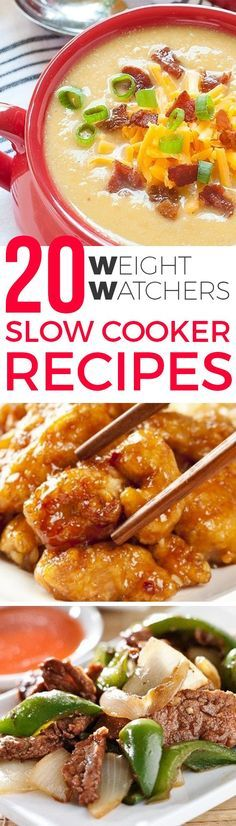 20 BEST WEIGHT WATCHERS SLOW COOKER RECIPES WITH SMARTPOINTS