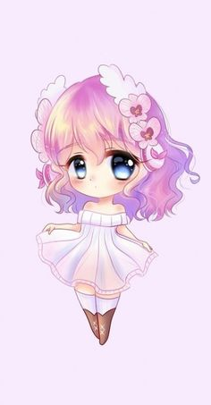anime anime girl art background beautiful beauty cartoon chibi color colorful cute baby design drawing fashion fashionable girl illustration illustration girl inspiration kawaii luxury pastel pretty purple wallpaper wallpapers we Baby Cartoon Drawing, Chibi Girl Drawings, Cute Girl Drawing, Cute Kawaii Drawings, Cute Animal Drawings, Cartoon Drawings, Cartoon Art, Chibi Drawing, Kawaii Anime Girl