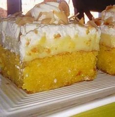 Greek Sweets, Greek Desserts, Greek Recipes, Desert Recipes, Sweets Cake, Vanilla Cake, Sweet Tooth, Deserts, Food And Drink