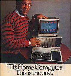Cosby sweater retro computer ad