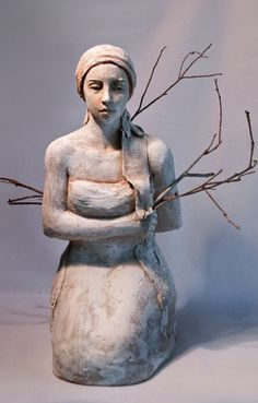 ☥ Figurative Ceramic Sculpture ☥ Mary Buckman