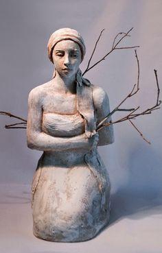 ☥ Figurative Ceramic Sculpture ☥ Mary Buckman