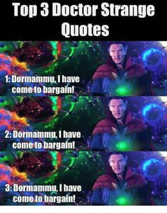 Top 3 Doctor Strange quotes