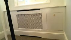 Radiator cover and shoe rack