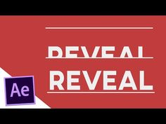 Revealing Text with Shapes - After Effects Tutorial - YouTube