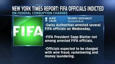 FIFA officials arrested on charges of corruption