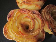 Roses de pommes de terre
