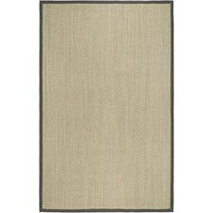 Safavieh Natural Fiber Collection NF443B Handmade Marble and Grey Sisal Area Rug, 6 feet by 9 feet (6′ x 9′) #handmade The Safavieh Natural Fibers Collection uses premium, natural fibers to create beautiful, modern rugs.  These rugs are hand-woven of 100% natural seagrass.  The cotton backing adds durability, and protects your floors. These modern rugs will add a chic accent to your home. These rugs are made of natural materials such as jute, sissal, and sea grass These rugs are made..