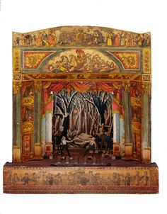 What's not to love here? #toytheater, #fencing, #victoriana
