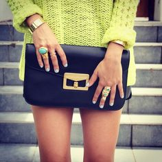 Marc Jacobs Bianca clutch