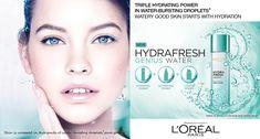 GG / Barbara Palvin (Hungary) for L'Oreal Paris 'Hydrafresh' campaign / 2015