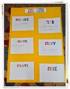 Χαρούμενες φατσούλες στο νηπιαγωγείο: ΔΗΜΙΟΥΡΓΙΑ ΠΑΡΑΜΥΘΙΟΥ - Η ΒΑΛΙΤΣΑ ΤΗΣ ΔΗΜΙΟΥΡΓΙΚΗΣ ΓΡΑΦΗΣ Kids Education, Creative Writing, Notes, Teaching, Blog, Early Education, Report Cards, Narrative Poetry, Notebook