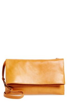 Halogen®+Leather+Crossbody+Bag+available+at+#Nordstrom