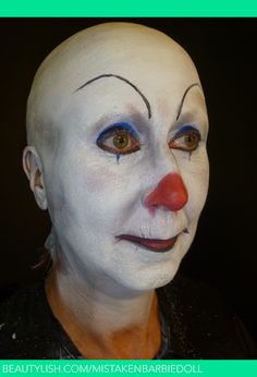 19 Best Whiteface Clown Designs Images Makeup Clowning