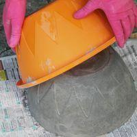 DIY: un brasier en béton ,