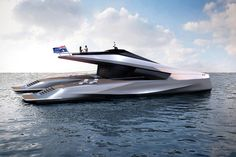 Peugeot Design Lab 115ft Power Catamaran Concept for JFA Yachts